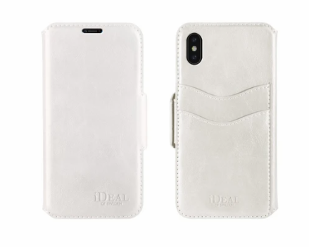 iDeal Of Sweden iPhone X London Wallet Case, White