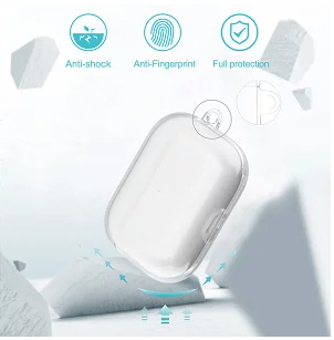 Devia AirPods Pro Naked PC Case Suit, Clear
