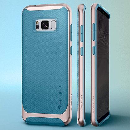 Spigen Samsung Galaxy S8+ Neo Hybrid, Niagara Blue
