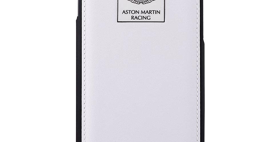 Aston Martin Racing iPhone 6 Leather Back Case Luxury, White