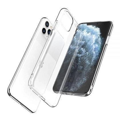 JTLegend iPhone 11 Pro Ice Stone Hard PC Case, Crystal