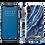 Thumbnail: iDeal Of Sweden iPhone X/Xs Fashion Case 2019, Indigo Swirl