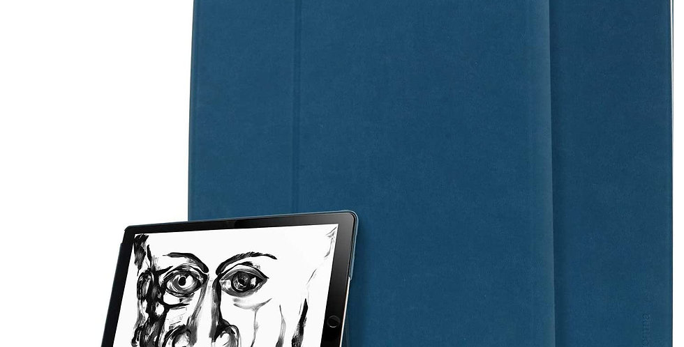 """Comma iPad Pro 12.9"""" (2015 & 2017) Elegant Series Case, Blue"""