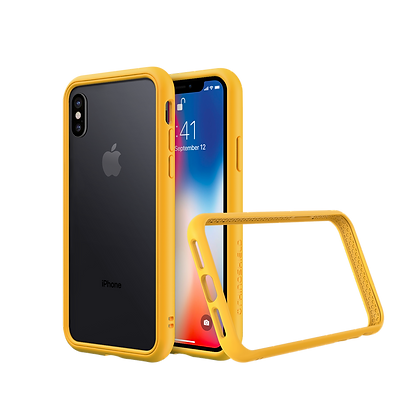 RhinoShield iPhone Xs Max CrashGuard NX, Yellow