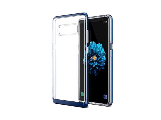 VRS Design Samsung Galaxy Note 8 Crystal Bumper, Deep Sea Blue