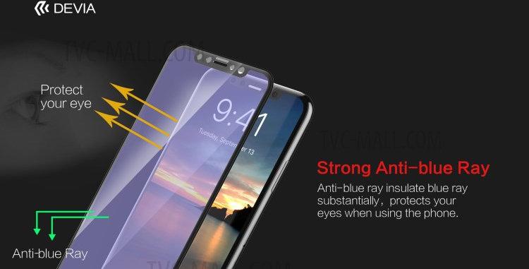 Devia iPhone 11 Pro Tempered Glass,  Black