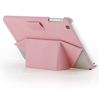 iPearl iPad mini 4 Leather Stand with Stylus, Pink
