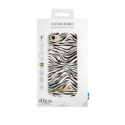 iDeal Of Sweden Fashion Case iPhone 8/7/6/6s, Zafari Zebra