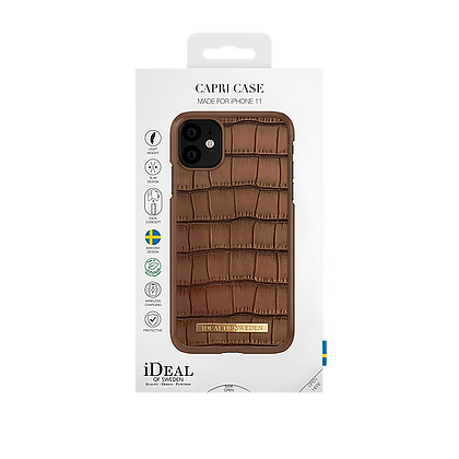 iDeal Of Sweden Fashion Wallet Capri iPhone 11 Pro Max, Brown