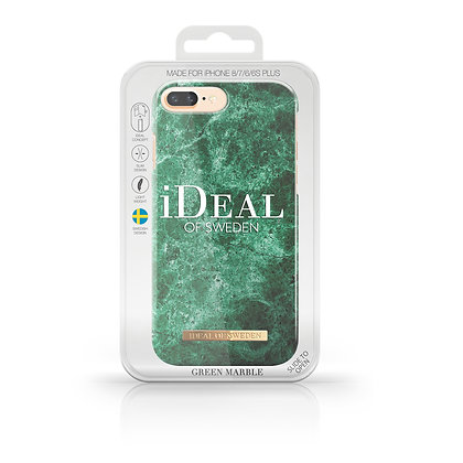 iDeal Of Sweden Green Marble iPhone 8/7/6/6s Plus Case