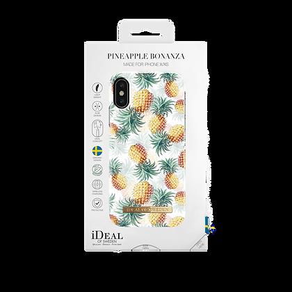 iDeal Of Sweden Fashion Case iPhone X/Xs, Pineapple Bonanza