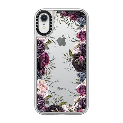 Casetify iPhone XR Impact Case, Frost My Secret Garden