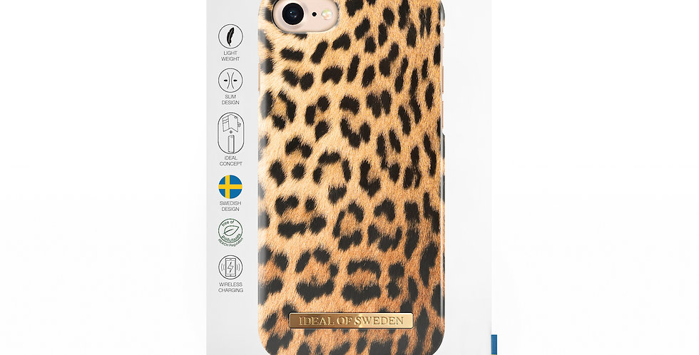 iDeal Of Sweden iPhone 8 Fashion Case A/W 17-18, Wild Leopard