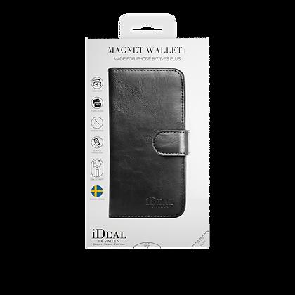 iDeal Of Sweden Magnet Wallet Plus iPhone 8/7/6/6s Plus, Black