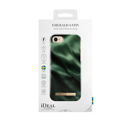 iDeal Of Sweden Fashion Case iPhone 8/7/6/6s, Emerald Satin