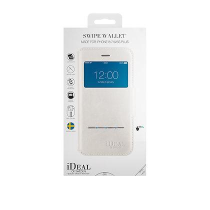 iDeal Of Sweden Swipe Wallet iPhone 8/7/6/6s Plus, White
