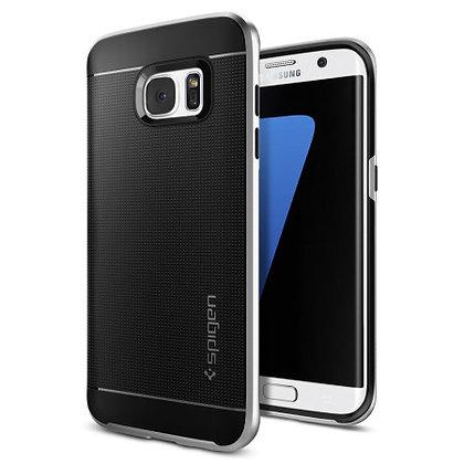 Spigen Samsung Galaxy S7 Edge Neo Hybrid Series, Satin Silver