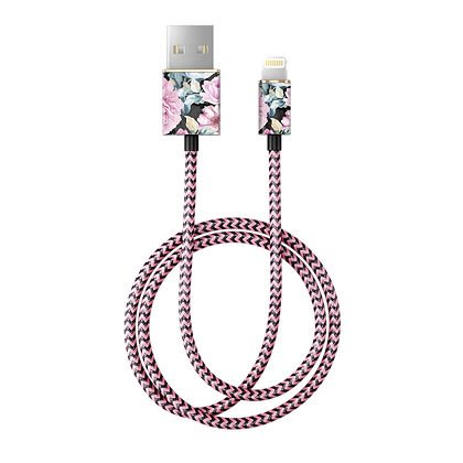 iDeal Of Sweden Fashion Lightning Cable, 2M Peony Garden