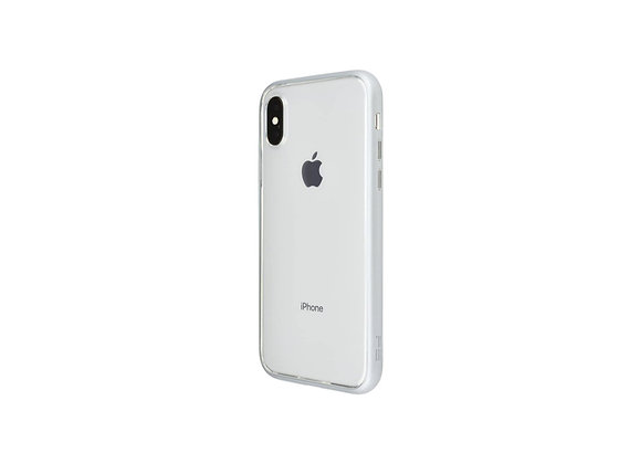 Power Support iPhone X Air Jacket Shock-Proof, Metallic Silver