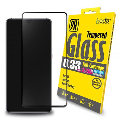 Hoda Huawei Mate 20X 0.33mm Full Coverage Tempered Glass, Clear