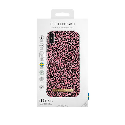 iDeal Of Sweden Fashion Case iPhone Xs Max, Lush Leopard