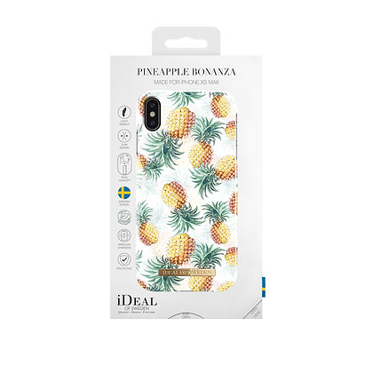 iDeal Of Sweden Fashion Case 2019 iPhone Xs Max, Pineapple Bonanza