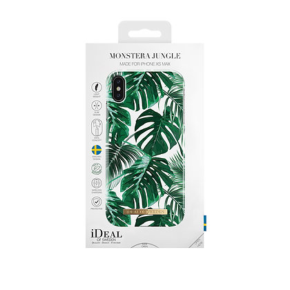 iDeal Of Sweden Monstera Jungle iPhone Xs Max Case