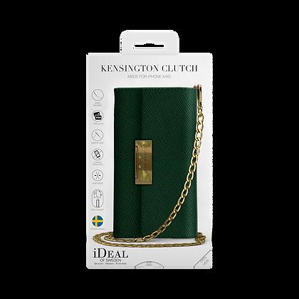 iDeal Of Sweden Kensington Crossbody Clutch iPhone 11 Pro, Green