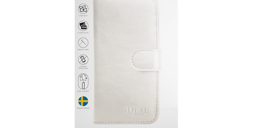 iDeal Of Sweden iPhone 8/7/6/6s Magnet Wallet Plus, White