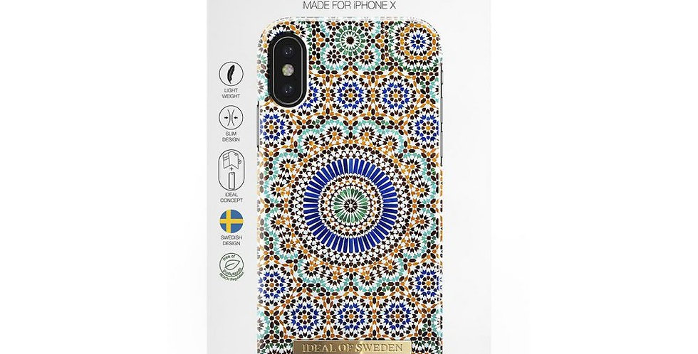 iDeal Of Sweden iPhone X/Xs Fashion Case, Moroccan Zellige
