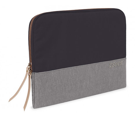 "STM Laptop Sleeve 15"" Grace, Cloud Grey"