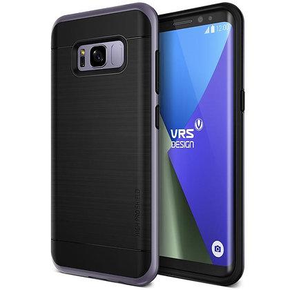 VRS Design Samsung Galaxy S8 Plus High Pro Shield, Orchid Gray