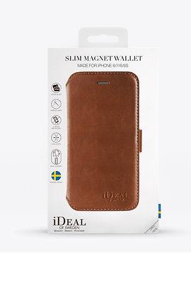 iDeal Of Sweden Slim Magnet Wallet iPhone 8/7/6/6S, Brown