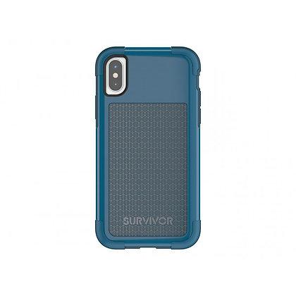 Griffin iPhone X Survivor Fit, Blue/Light Blue
