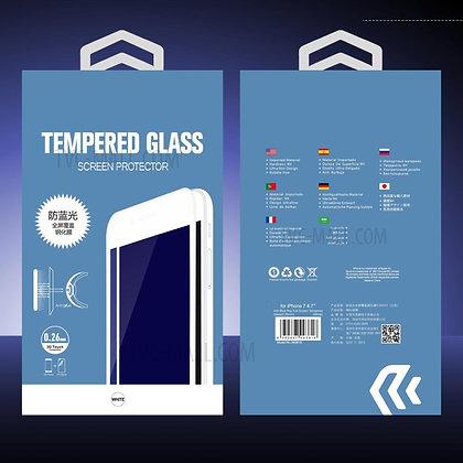 Devia iPhone 7 Screen Protector, MAX  Glass White