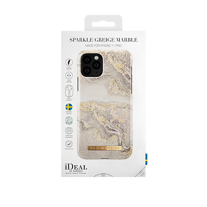 iDeal Of Sweden Sparkle Greige Marble iPhone 11 Pro Case