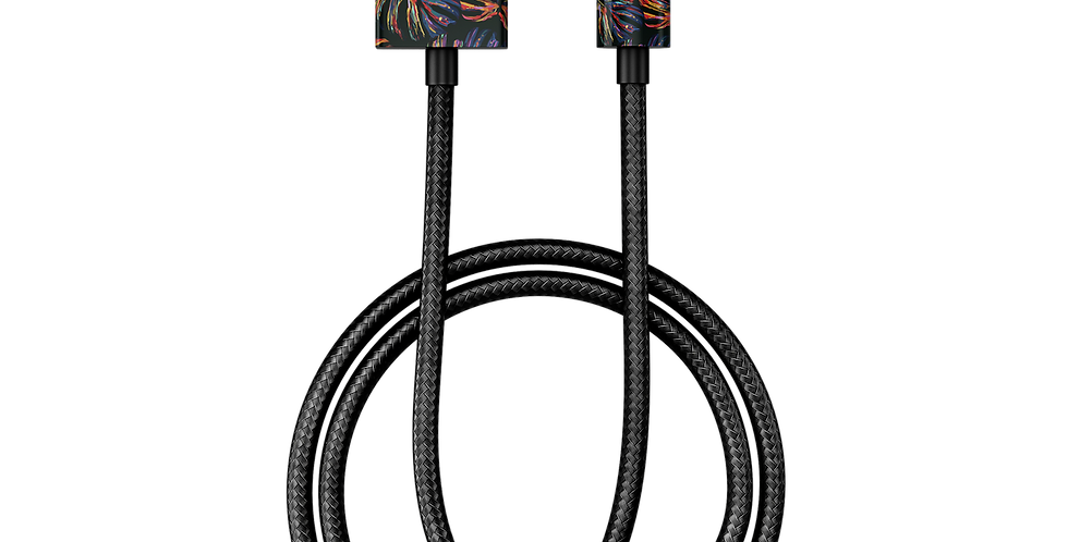 iDeal Of Sweden Fashion Lightning Cable (MFI), 1M Neon Tropical