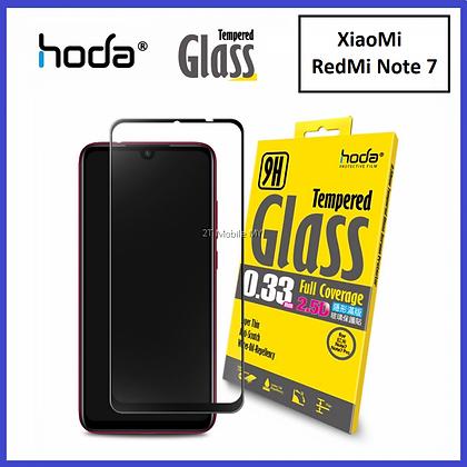 Hoda Xiaomi Redmi Note 7 Tempered Glass, 2.5D Full Coverage