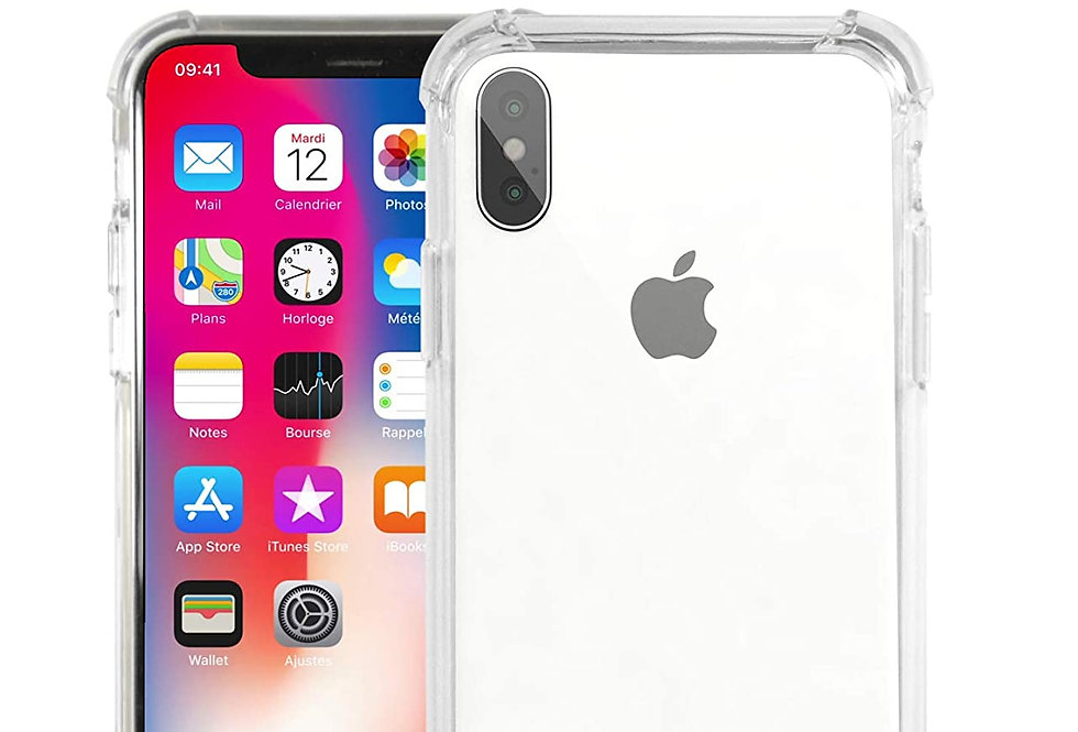 Devia iPhone X Shockproof, Clear