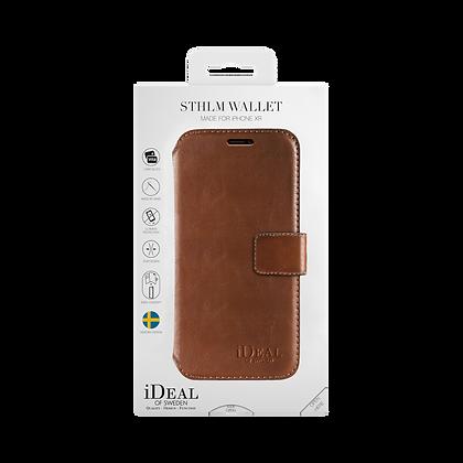 iDeal Of Sweden STHLM Wallet iPhone XR, Brown