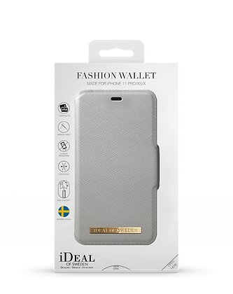 iDeal Of Sweden Fashion Wallet iPhone 11 Pro, Light Grey