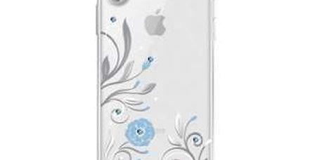 Devia iPhone X Crystal Petunia Case, Silver