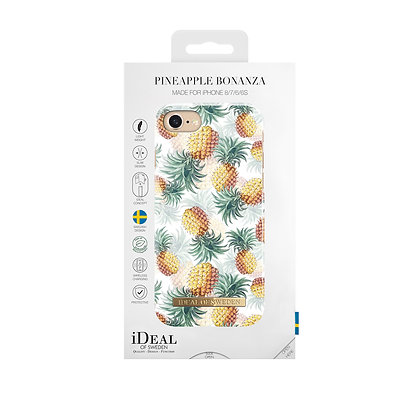 iDeal Of Sweden Fashion Case iPhone 8/7/6/6s, Summer 2018, Pineapple Bonanza
