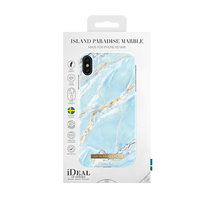 iDeal Of Sweden Fashion Case iPhone Xs Max, Island Paradise Marble