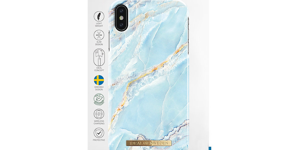 iDeal Of Sweden iPhone Xs Max Fashion Case, Island Paradise Marble