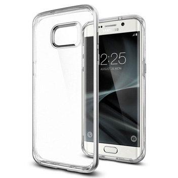 Spigen Samsung Galaxy S7 Edge Neo Hybrid Crystal Series, Satin Silver
