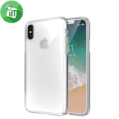 SwitchEasy iPhone X Nude AirBarrier PC Case, Ultra Clear