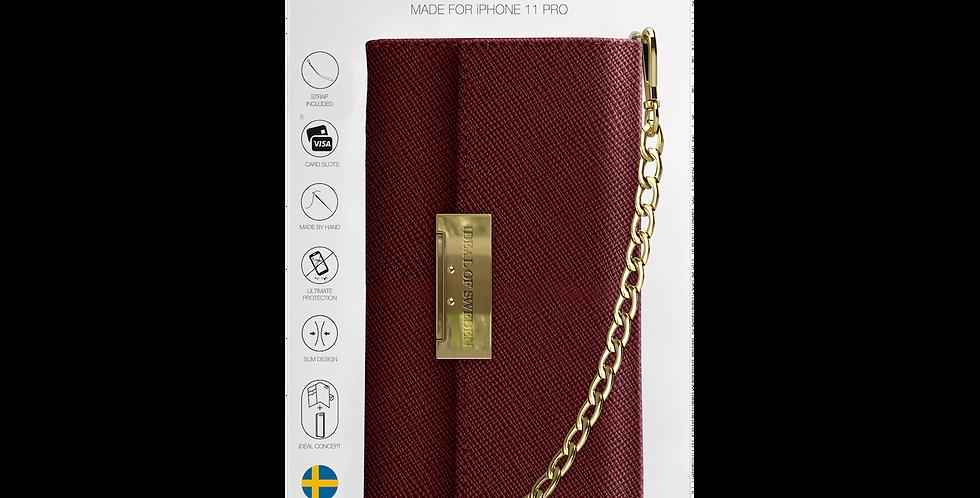 iDeal Of Sweden 11 Pro Kensington Crossbody Clutch, Burgundy