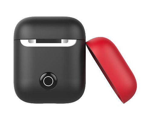 SwitchEasy AirPods 2 Colors Silicone Case, Black