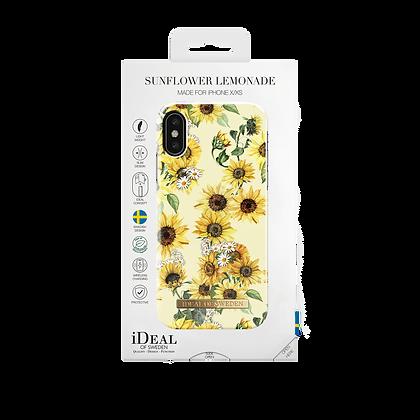 iDeal Of Sweden iPhone Xs Fashion Case 2019, Sunflower Lemonade